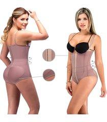 fajas para mujer body panty contorno fajas lady - cocoa