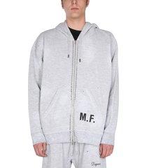 dsquared2 cotton sweatshirt with logo