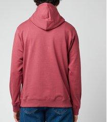 kenzo men's tiger seasonal hoodie - blackberry - xxl