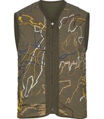 victor vest vests padded vests groen wood wood