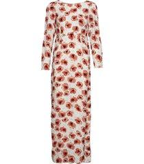 20's dress maxi dress galajurk rood by ti mo