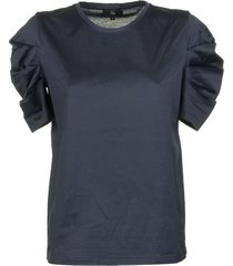 fay cotton t-shirt blu