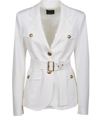pinko white viscose jacket