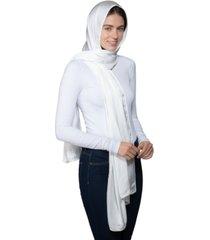 inc mini satin border head scarf wrap, created for macy's
