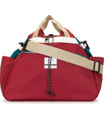 as2ov twill drawstring shoulder bag - red