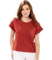camiseta aura rojo ragged pf51120560
