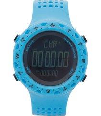 reloj  azul-negro columbia