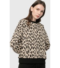 saco negro-animal print paris district