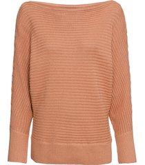 maglione con scollo a barca (marrone) - bodyflirt
