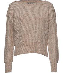 sala knit pullover gebreide trui beige mos mosh