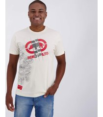 camiseta ecko basic famous off white