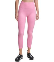 dkny sport seamless high-rise 7/8 length leggings