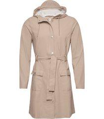 curve jacket regnkläder beige rains