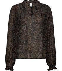 pzamaya blouse premium quality blus långärmad svart pulz jeans