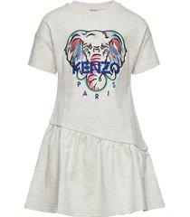 jacinthe jurk grijs kenzo