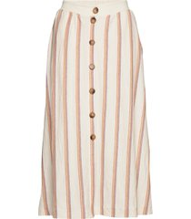skirts knitted knälång kjol beige esprit casual