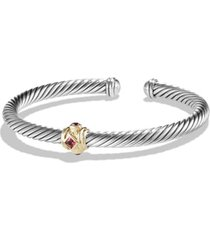 women's david yurman renaissance bracelet with semiprecious stones & 14k gold, 5mm