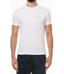 camiseta mc ckj masc logo basico peito - branco - pp
