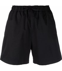 filippa k jessa poplin shorts - black