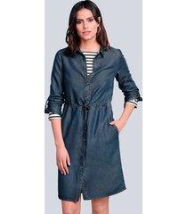 jurk alba moda dark blue
