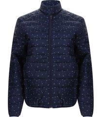 chaqueta mujer estrellas color azul, talla s