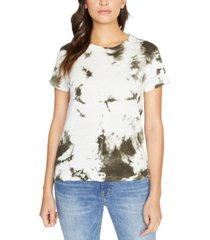 sanctuary perfect tie-dye printed t-shirt