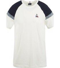 t-shirt korte mouw le coq sportif -