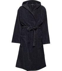 bath robe morgonrock badrock svart schiesser