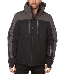 avalanche men's hooded ski jacket