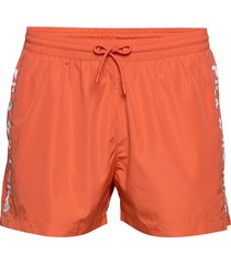 men sho swim shorts badshorts orange fila