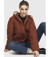 chaqueta jacqueline de yong burdeo - calce regular