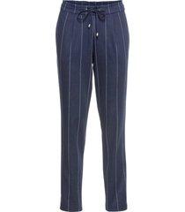 pantaloni gessati (blu) - bodyflirt