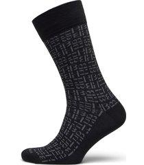 rs dual monogram cc underwear socks regular socks svart boss