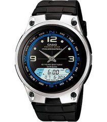 relógio casio standard aw-82-1avdf masculino - masculino