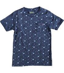 indian blue stevig zacht indigo blauw shirt