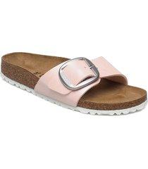 madrid big buckle shoes summer shoes flat sandals rosa birkenstock