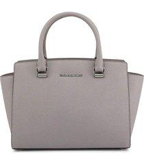selma medium top zip satchel
