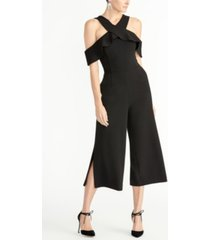 rachel rachel roy off the shoulder ruffle jumpsuit