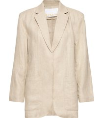 helen blazer blazers over d blazers beige remain birger christensen