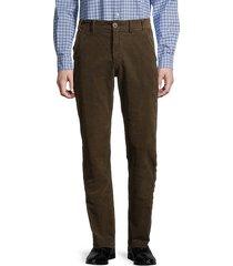 neuston regular-fit stretch corduroy pants