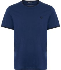 twin tipped t-shirt - medieval blue m1588-550