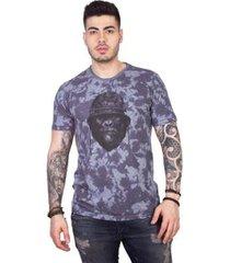 camiseta 4 ás manga curta gorila tie dye masculina - masculino
