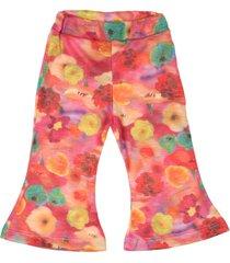 pantalón multicolor cante pido floreado