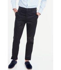 pantalon con bolsillos laterales negro 40