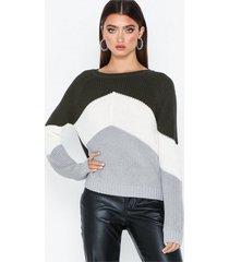 object collectors item objgraph l/s knit pullover i.rep stickade tröjor
