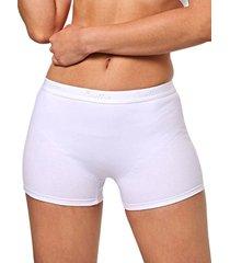 panty boxer levanta cola con control,  blanco  ref. 5123  soutien