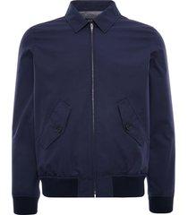 a.p.c gaspard jacket   blue   h02588-iaa