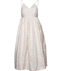 grant dress 11457 knälång klänning vit samsøe samsøe