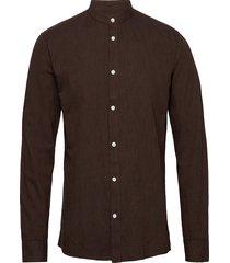 anholt skjorta casual brun minimum