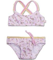 bikini rosa caracolores